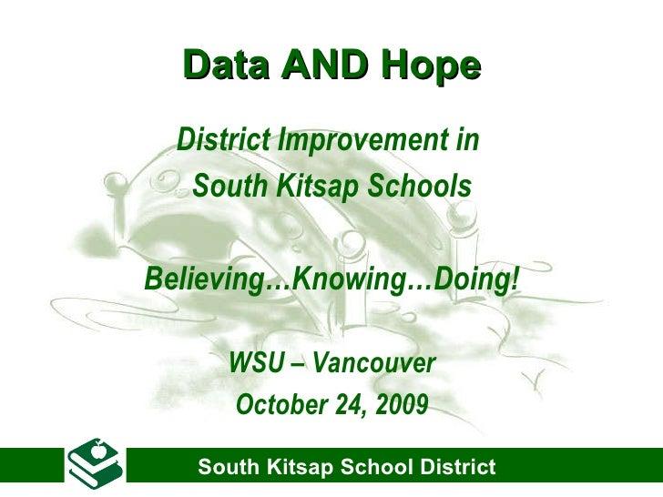 South Kitsap Presentation