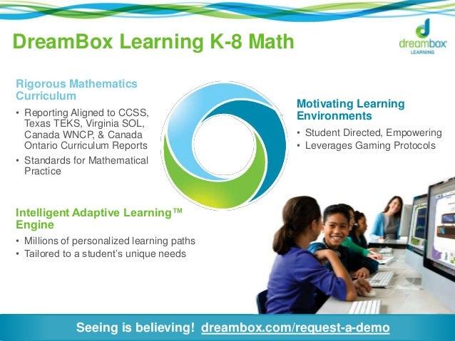 DreamBox Math Software - VIsual Curriculum To Teach ...