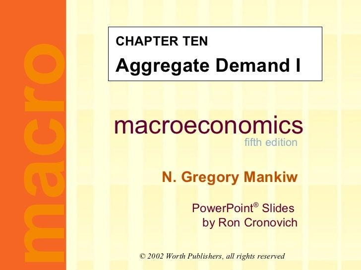 MACROECONOMICS-CH10