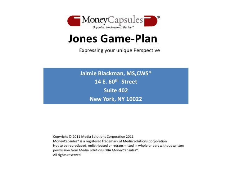 10 5-11 client game-plan for jane howland feedback