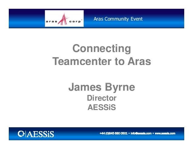 AESSiS Teamcenter to Aras