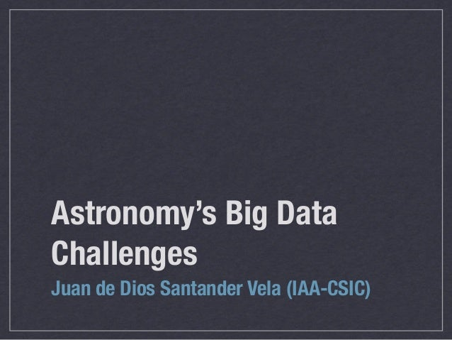 VO Course 10: Big data challenges in astronomy