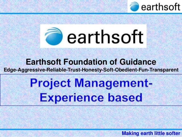 10 b-earthsoft-project management-experience based