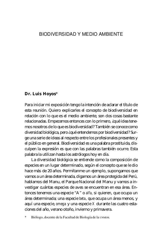 127Dr. Luis Hoyos*Para iniciar mi exposición tengo la intención de aclarar el título deesta reunión. Quiero explicarles el...