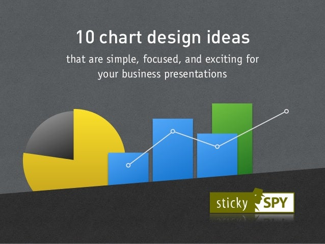 10 design ideas of simple and exciting charts for business presentations