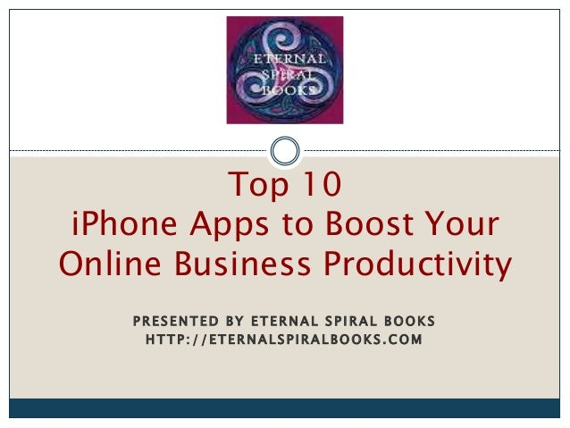 10 iPhone Apps for Online Business Productivity