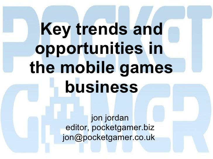 10 mobile gaming trends (2010)