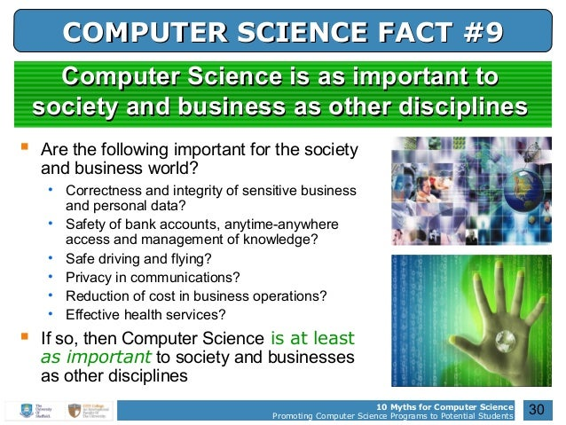 why english is important for computer science student In that way, the computer lab was an important place in these schools on the other hand, it is challenging to try connecting what is taught in the lab with what students are learning in their classrooms, which is, in my opinion, the ideal way to structure technology education.