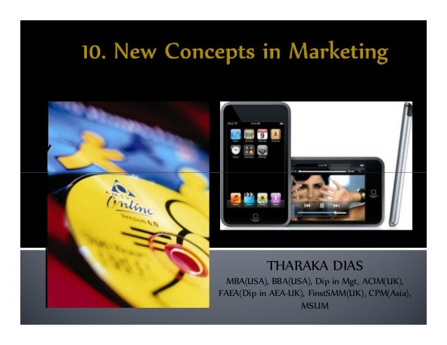 10. new concepts of marketing