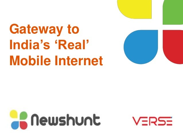 Gateway to India's 'Real' Mobile Internet