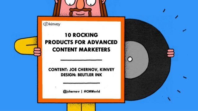 10 Rocking Content Marketing Products