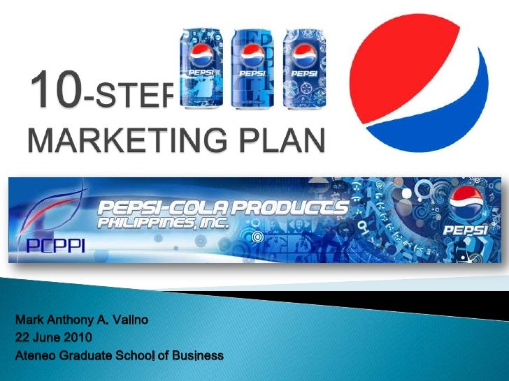 10-STEP MARKETING PLAN <br />Mark Anthony A. Valino<br />22 June 2010<br />Ateneo Graduate School of Business<br />