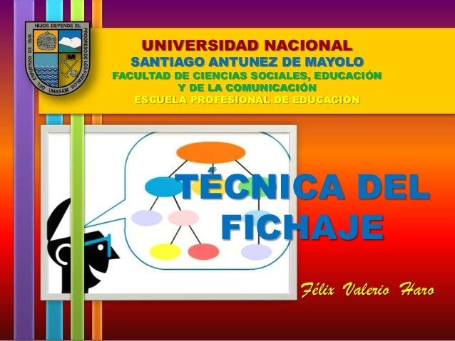 UNIVERSIDAD NACIONAL  SANTIAGO ANTUNEZ DE MAYOLO  FACULTAD DE CIENCIAS SOCIALES, EDUCACIÓN Y DE LA COMUNICACIÓN ESCUELA PR...