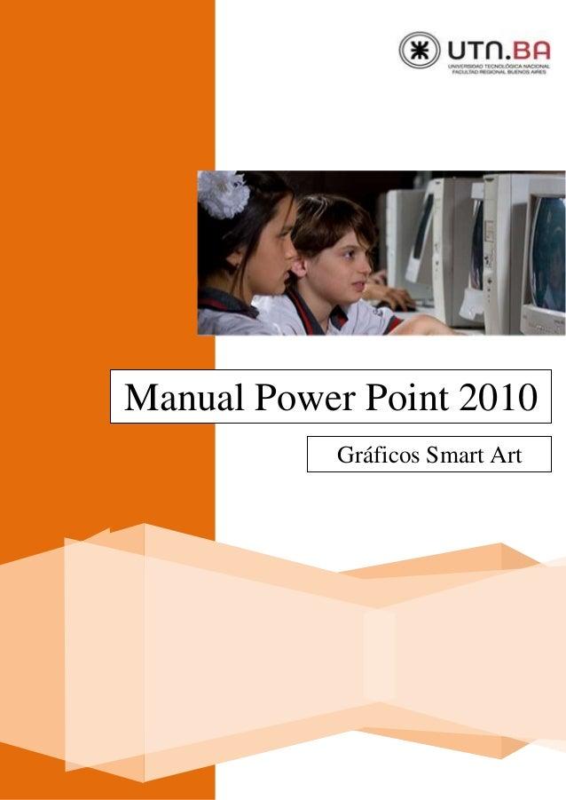 0 Manual Power Point 2010 Gráficos Smart Art