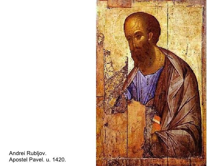 Andrei Rubljov. Apostel Pavel. u. 1420.