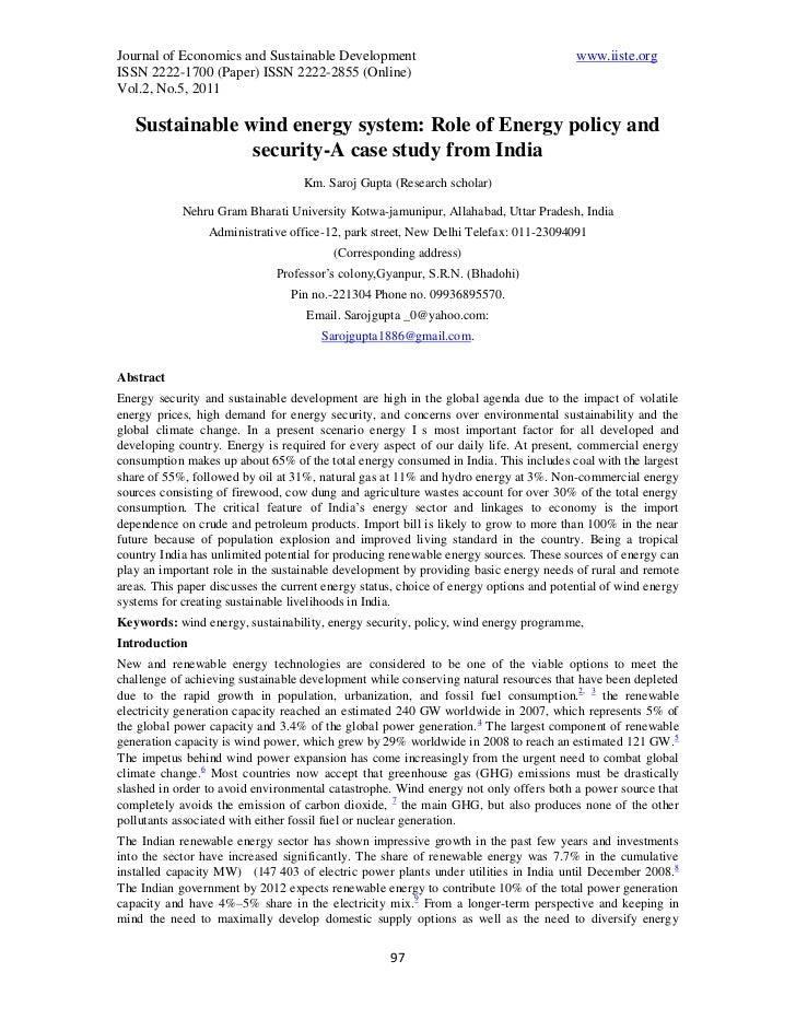 Journal of Economics and Sustainable Development                                        www.iiste.orgISSN 2222-1700 (Paper...