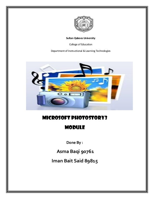 Sultan Qaboos University                 College of Education  Department of Instructional & Learning TechnologiesMicrosof...