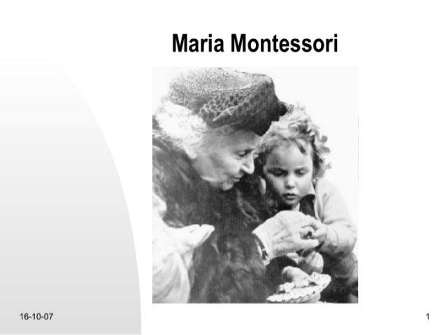 100 Jaar  Montessorionderwijs