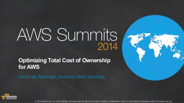 AWS Summit London 2014 | Optimising TCO for the AWS Cloud (100)