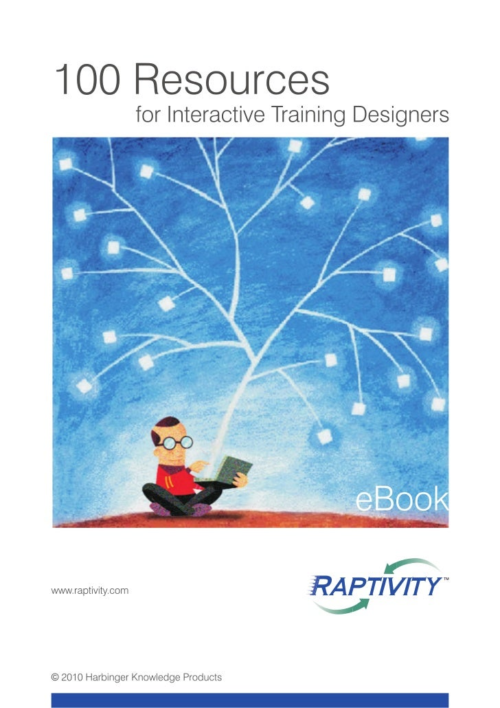 100 Resources for Interactive Training Designers e-Book