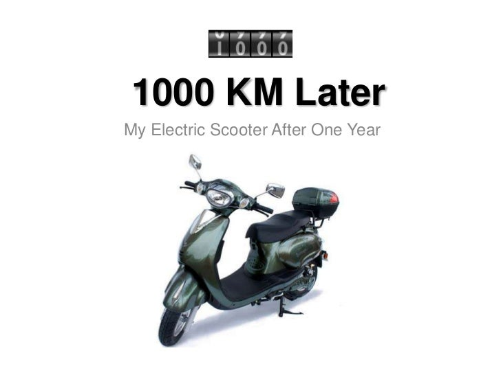 1000 KM LaterMy Electric Scooter After One Year