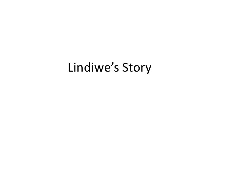 Lindiwe's Story<br />