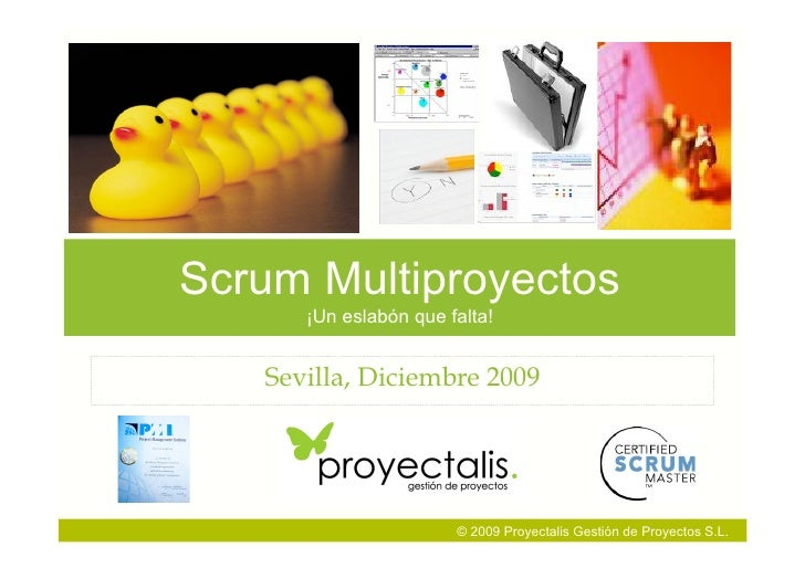 100115 Proyectalis Multiproject Scrum