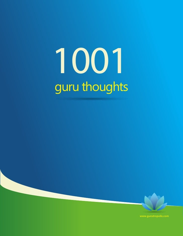 1001  Thoughts