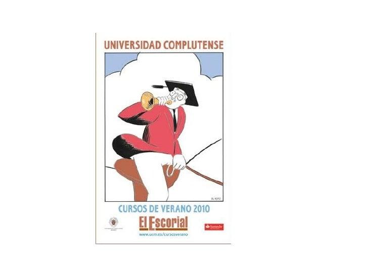 1001 Medios en los Cursos de Verano de EL Escorial