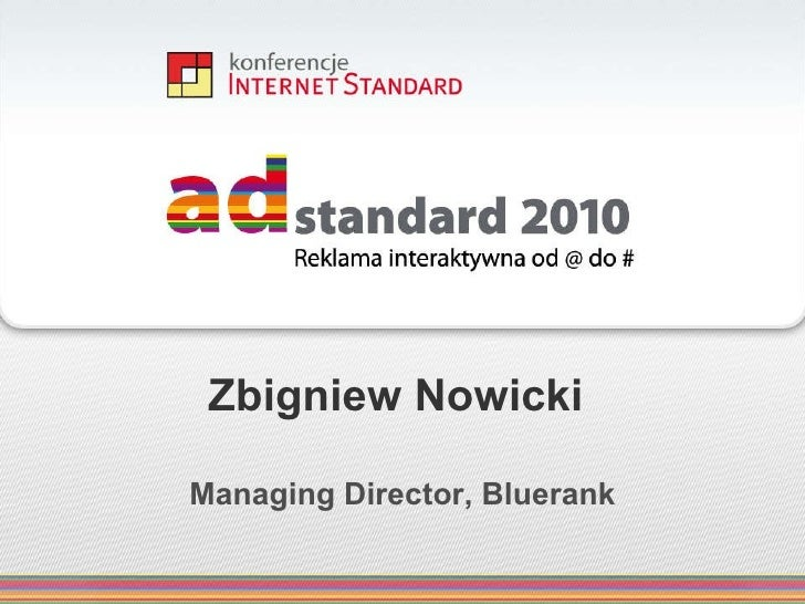 SEM 2009 vs 2010 - co było, jest i będzie - AdStandard 2010
