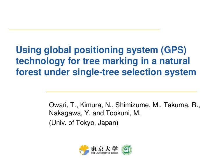 Using global positioning system (GPS) technology for tree marking in a natural forest under single-tree selection system<b...