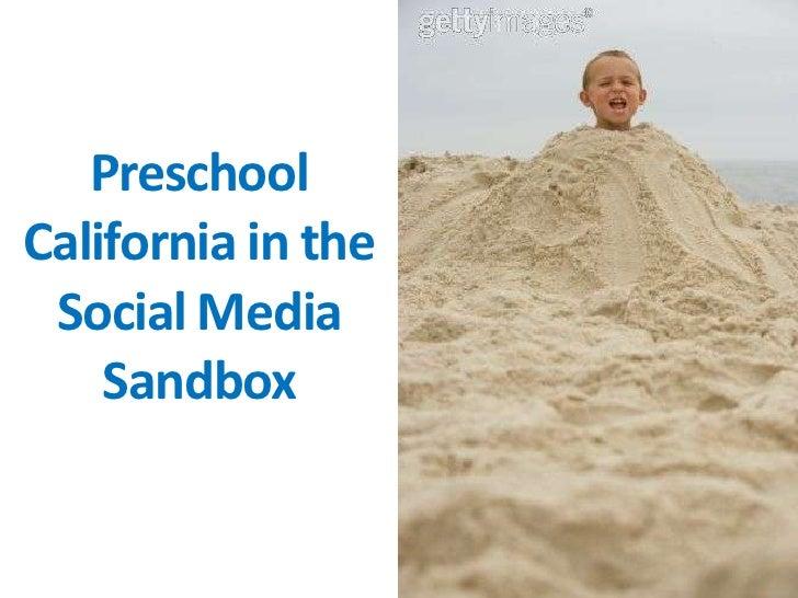 Preschool California Social Media Presentation