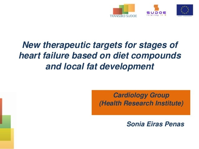 New therapeutic targets for stages of heart failure based on diet compounds and local fat development Cardiology Group (He...