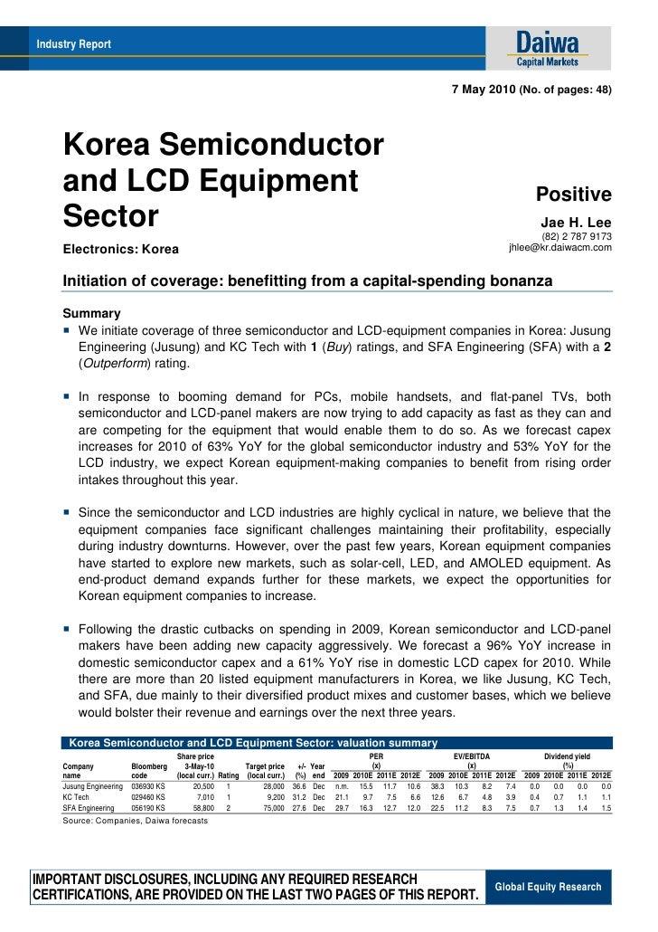100510 韓國半導體及lcd設備產業報告