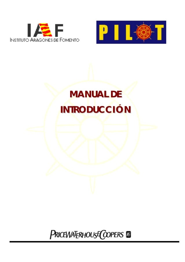 MANUAL DE  INTRODUCCIÓN