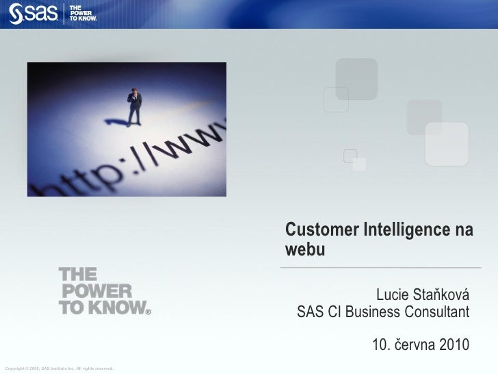 Customer Intelligence na                                                             webu                                 ...