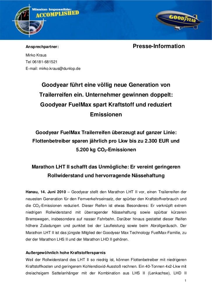 Ansprechpartner:                                           Presse-InformationMirko KrausTel 06181-681521E-mail: mirko.krau...