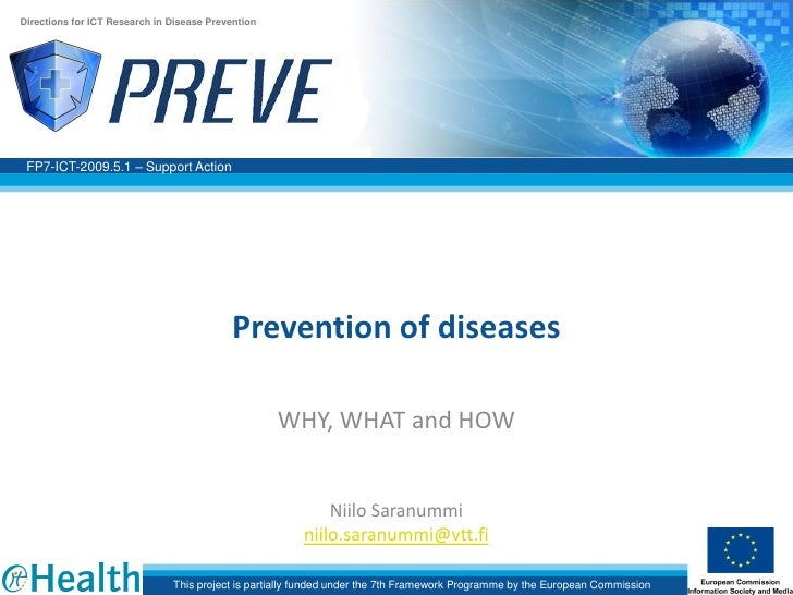 ECHweek 2010 - Prevention fo Diseases: WHY, WHAT, HOW