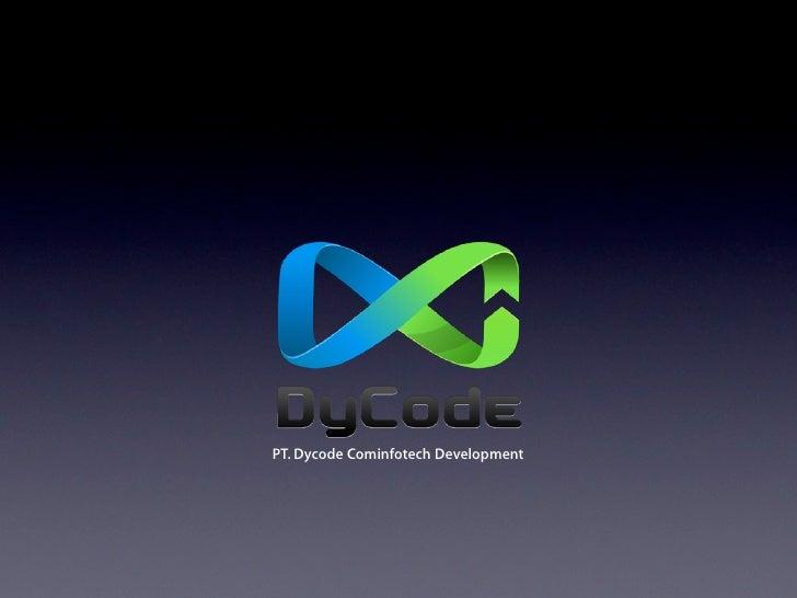 PT. Dycode Cominfotech Development