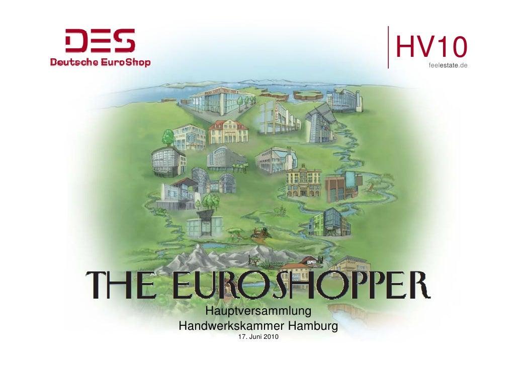 HV10                            feelestate.de         Hauptversammlung     H   t       l Handwerkskammer Hamburg         1...