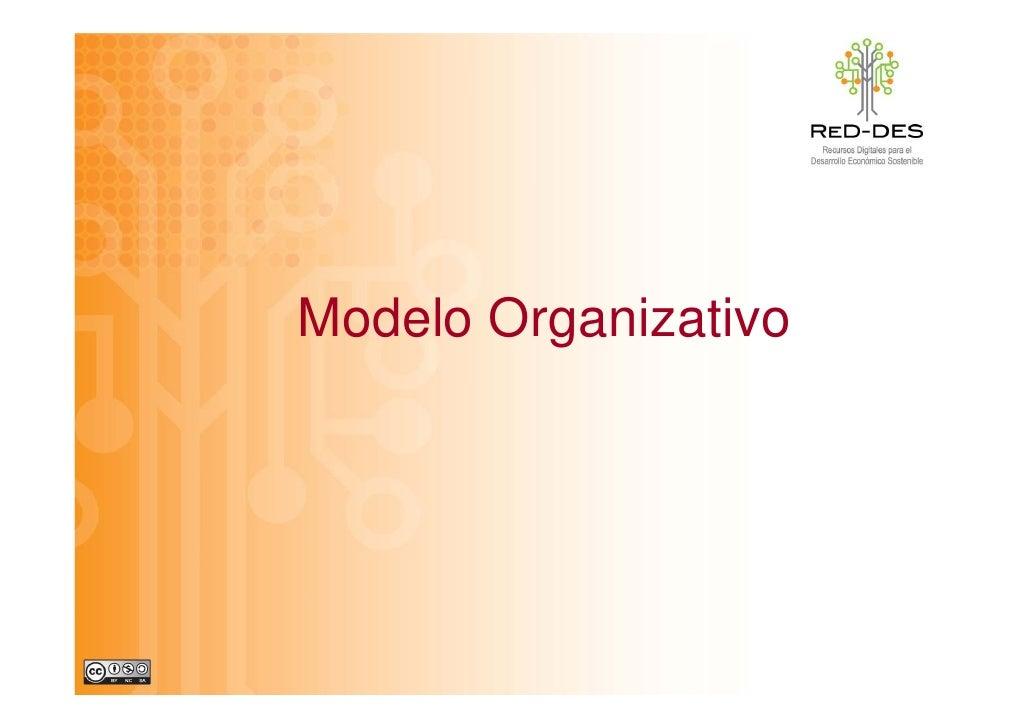 Modelo Organizativo