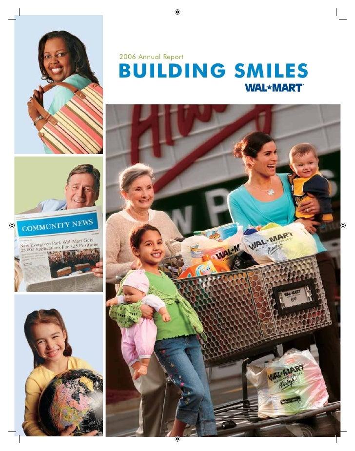 2006 Annual Report  BUILDING SMILES