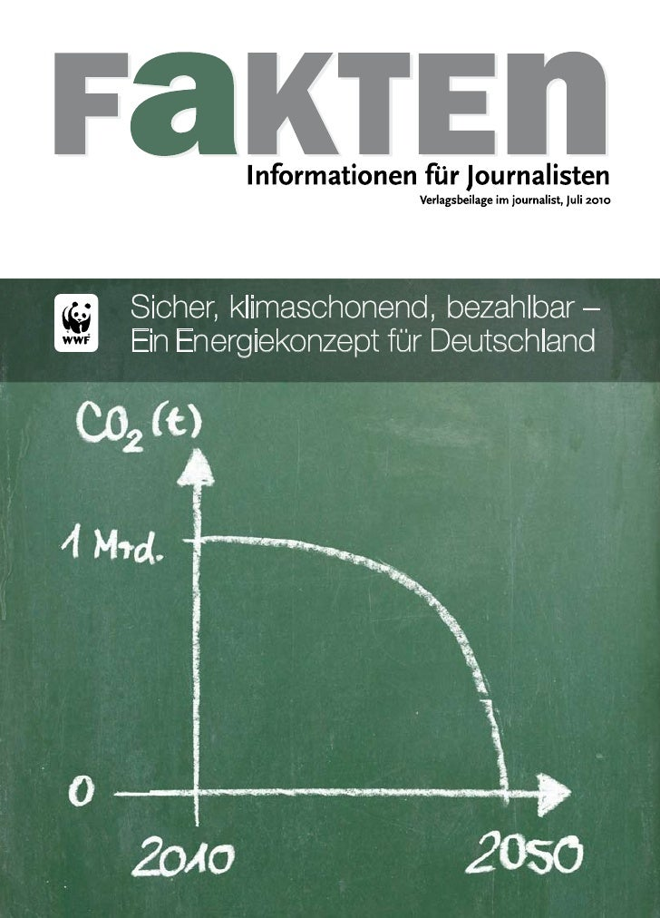 Sicher, klimaschonend, bezahlbar – Ein Energiekonzept für Deutschland                                          1