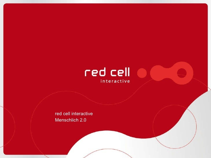 red cell interactive Menschlich 2.0