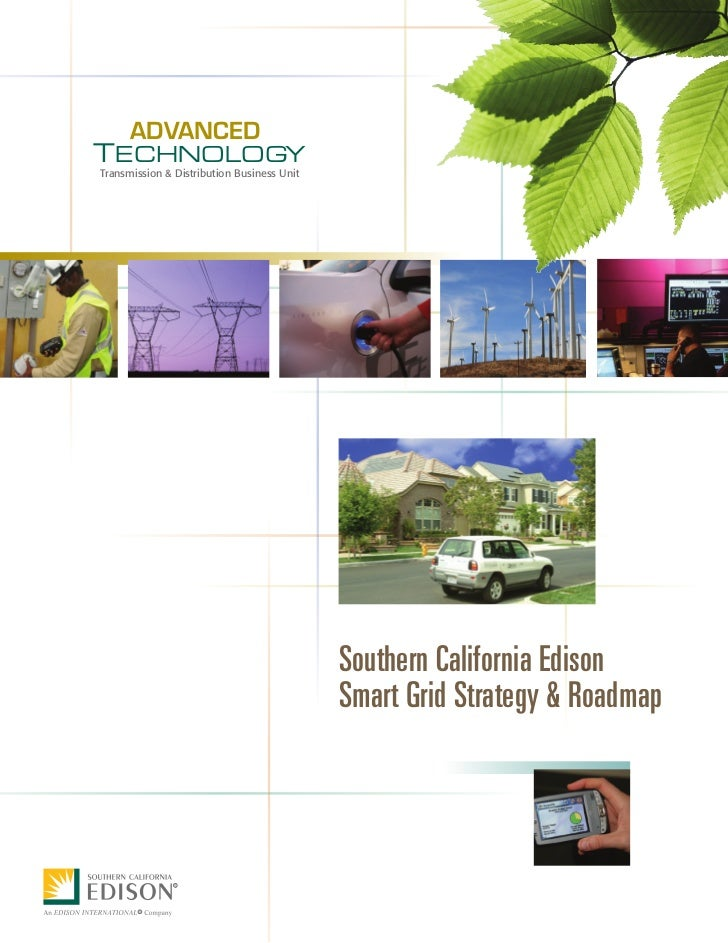 So Cal Edison Smart Grid Strategyand Roadmap