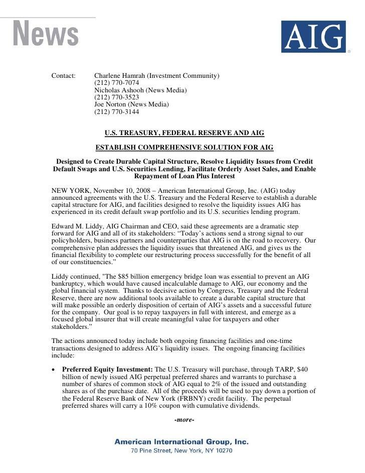 Contact:       Charlene Hamrah (Investment Community)                (212) 770-7074                Nicholas Ashooh (News M...