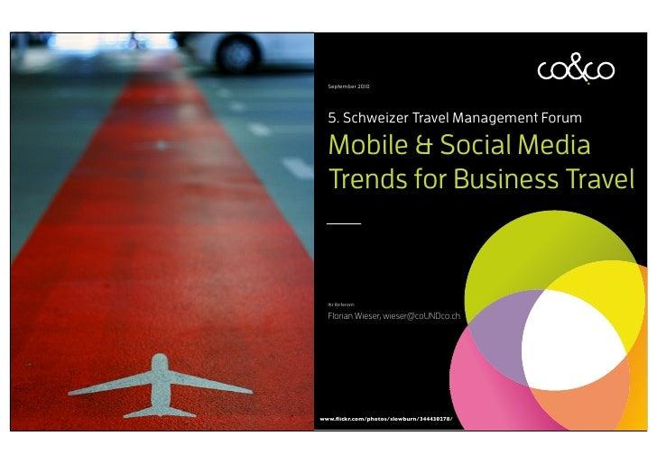 coUNDco Social Media & Mobile Trends für Business Travel