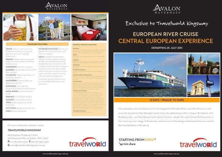 European River Cruise: Central European Experience