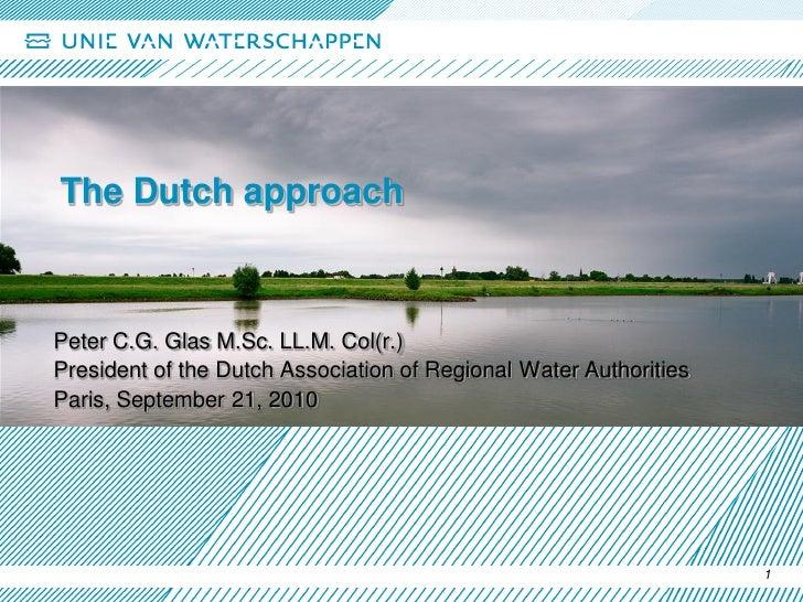 Dutch Flood Defence Presentation