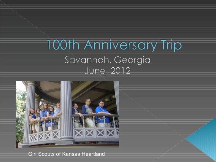 Savannah Trip 2012